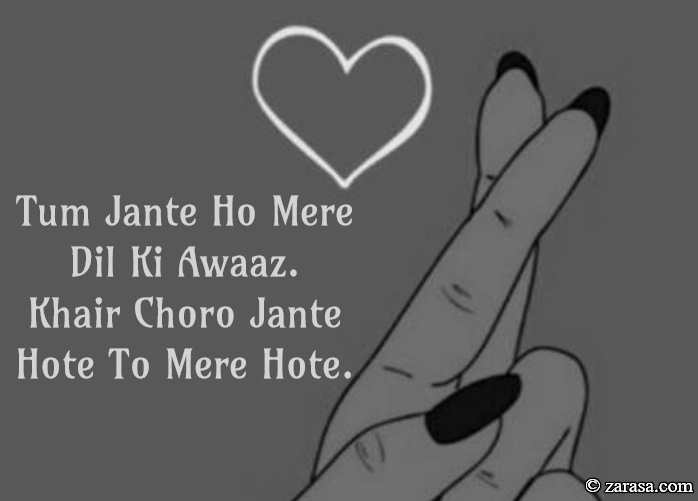 """Tanziya Shayari """"Dil Ki Awaaz"""""""