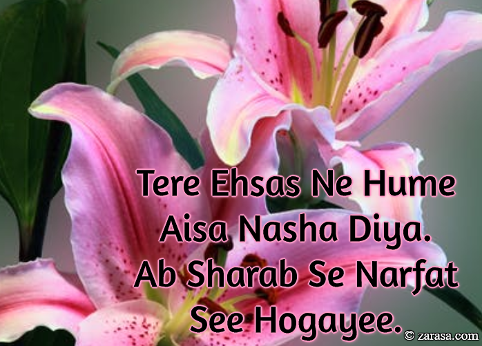 "Shayari for Love ""Narfat See Hogayee"""